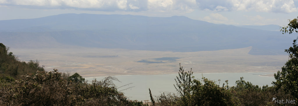 crater lake of ngorongoro