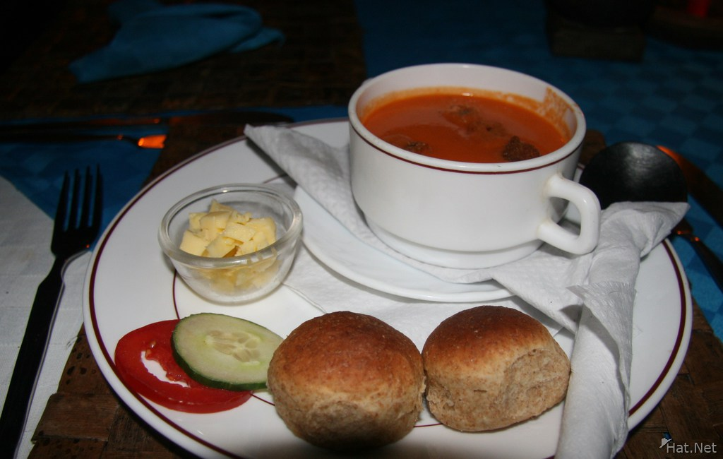 food--soup of the day