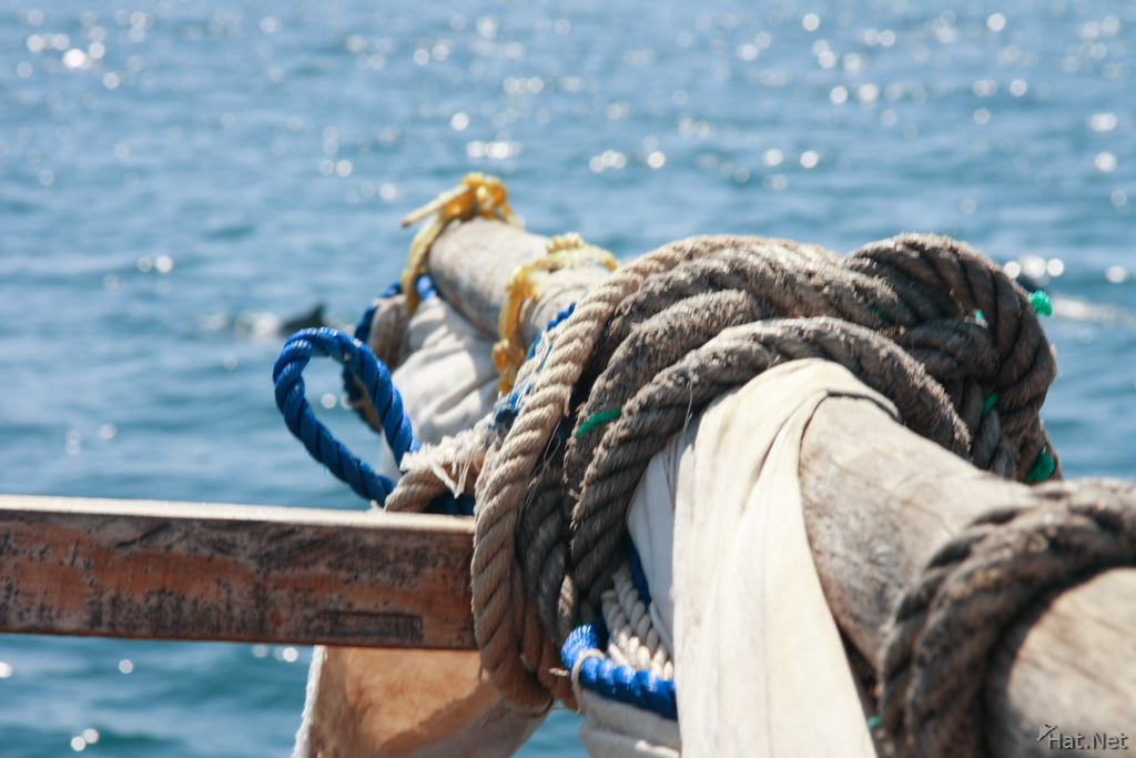 mask of a dhow boat