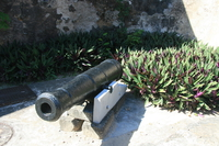 portuguese cannon Mombas, East Africa, Kenya, Africa