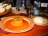 food--vegetable pie in carnivore Nairobi, East Africa, Kenya, Africa