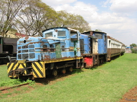 blue train Nairobi, East Africa, Kenya, Africa