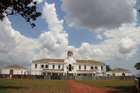 palace of buganda king Kampala, East Africa, Uganda, Africa