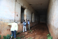prison cell where they shot people Kampala, East Africa, Uganda, Africa