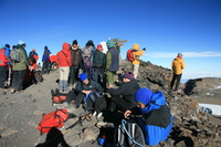 mission accomplished Kilimanjaro, East Africa, Tanzania, Africa