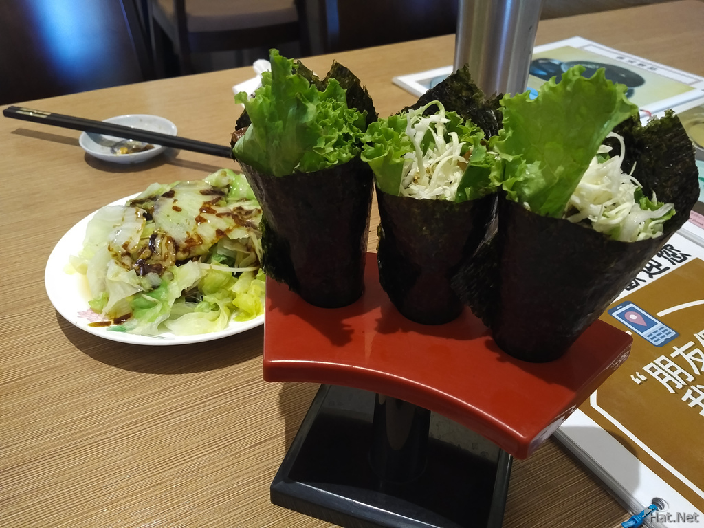 Veggie cones in Buddha World