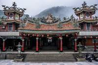 Jiufen Shengming Temple 祈堂廟[新巴士],  Ruifang District,  New Taipei City,  Taiwan, Asia