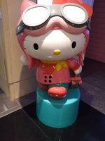 Hello Kitty in Taipei Airport Taipei, North, Taiwan, Asia
