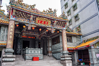 Yehliu Temple 保安宮,  Wanli District,  New Taipei City,  Taiwan, Asia