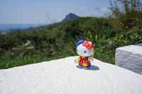 Hello Kitty in Maobitou Park Hengchun Township,  Taiwan Province,  Taiwan, Asia