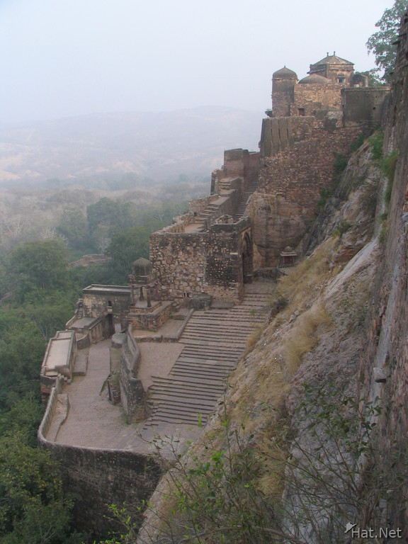 steps to the ranthambhore fort