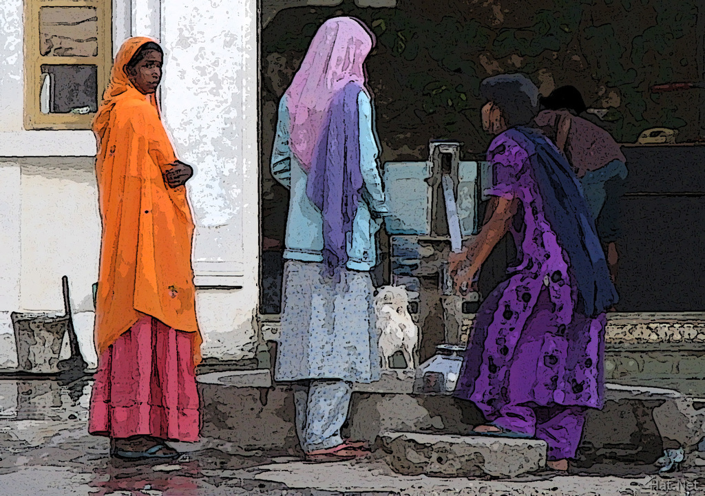 water girls in udaipur
