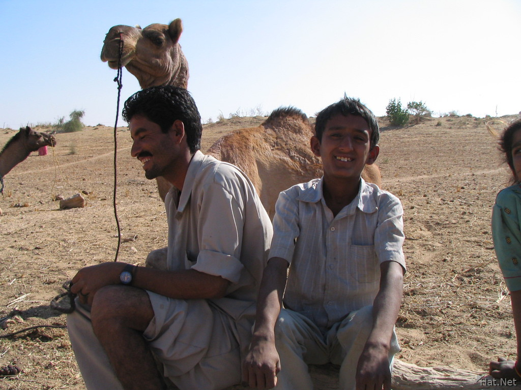 camel seller and the brother