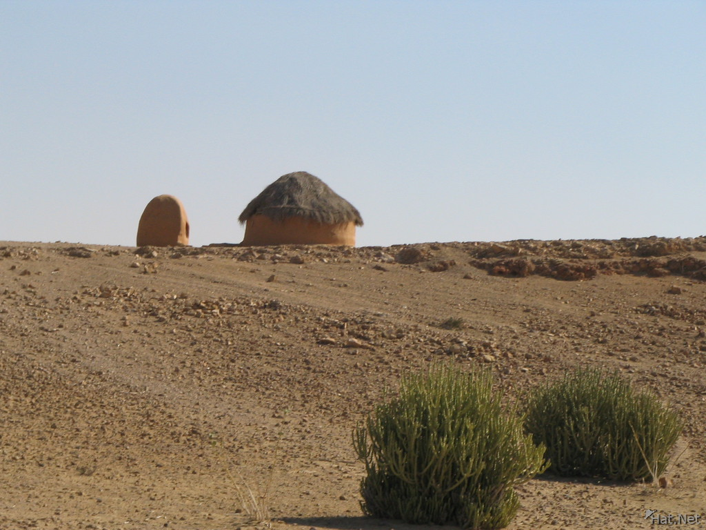 hut in the desert