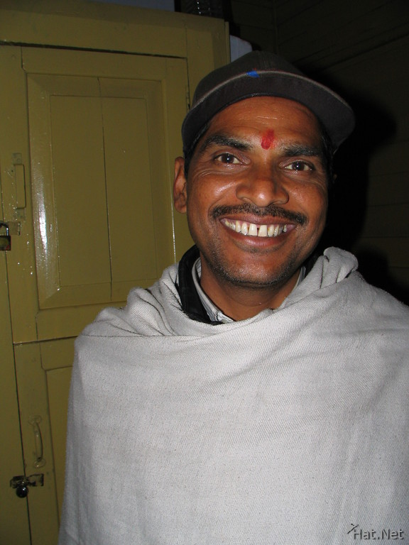 our dorm man in dhikala