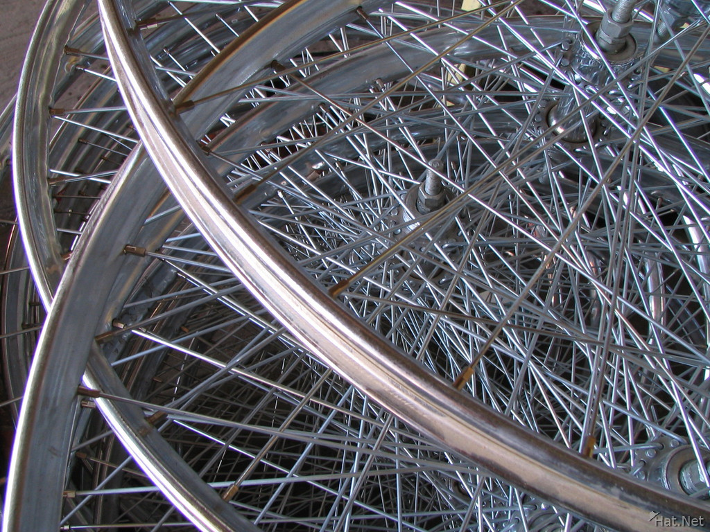 bycycle wheels