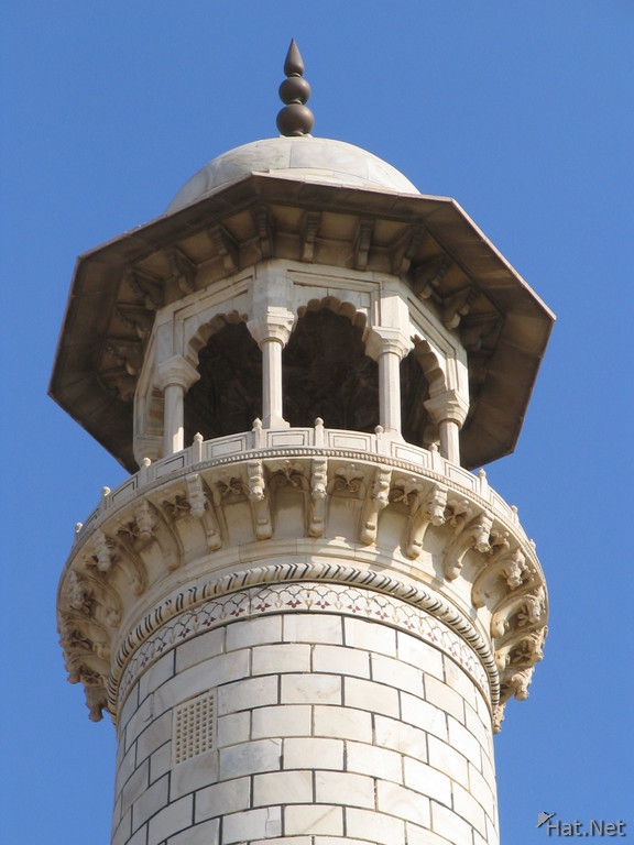 top of another minaret