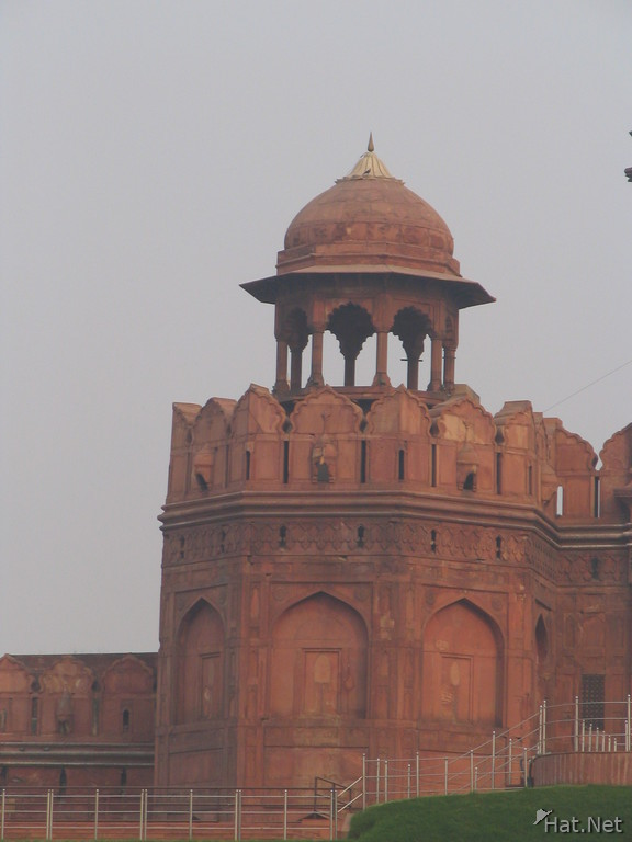 watch tower of red fort