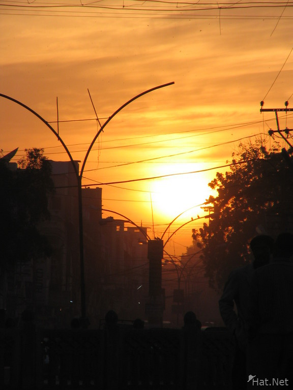 sunset bikaner