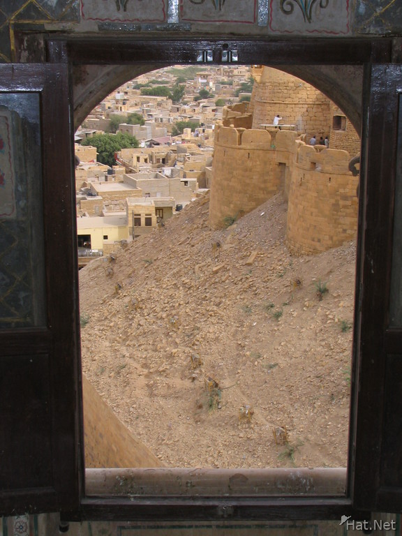construction on jaisalmer fort