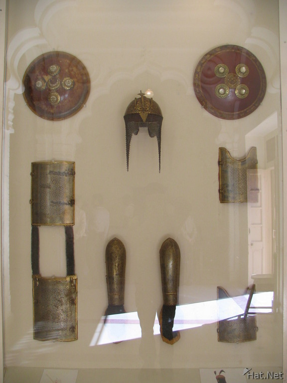 armours shields and helmets