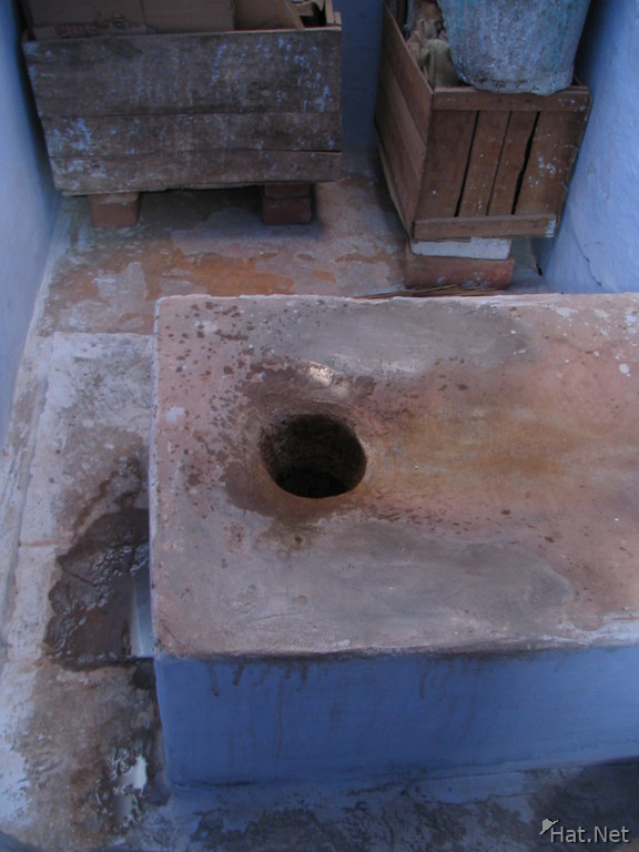 toilet in biliu house