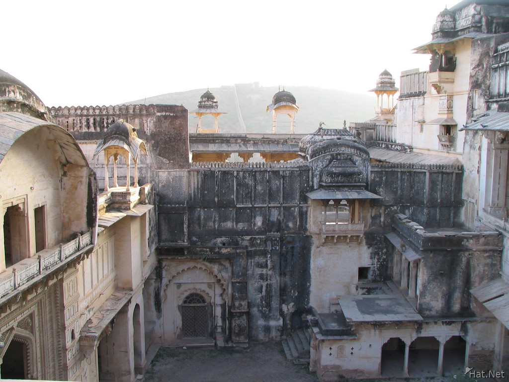 inside bundi palace