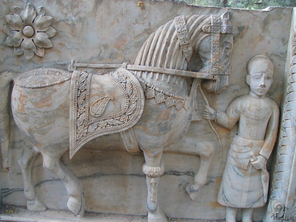 horse and horseman