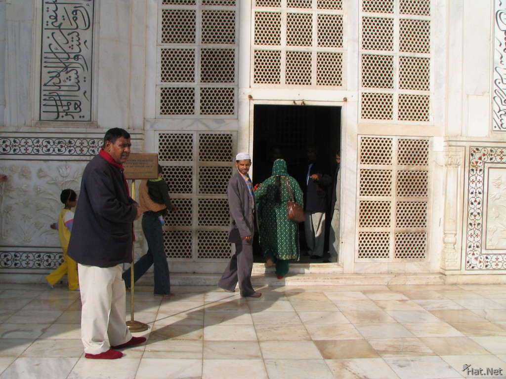 entrance to mausoleum