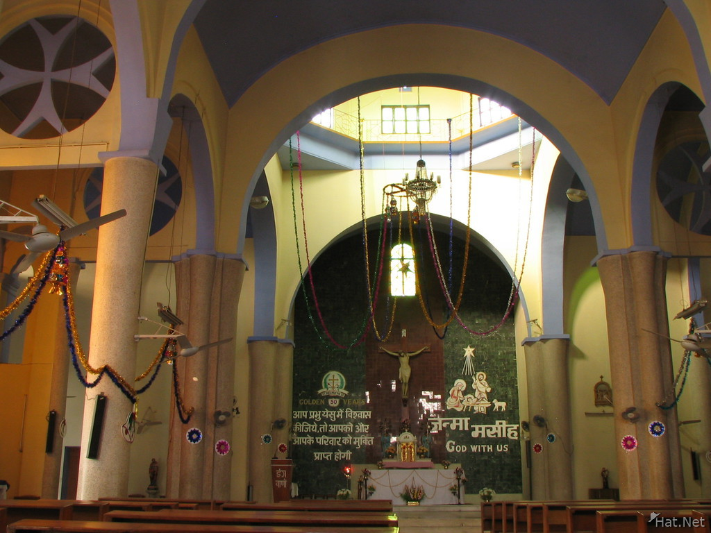 inside st jude church