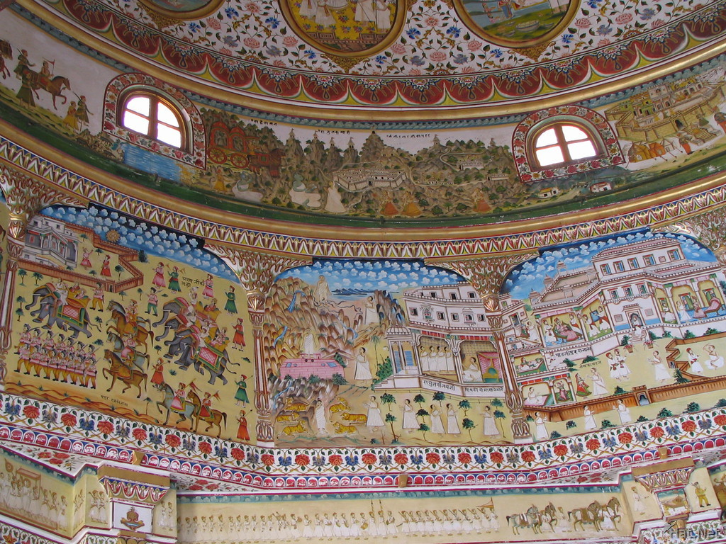 painting on jain temple