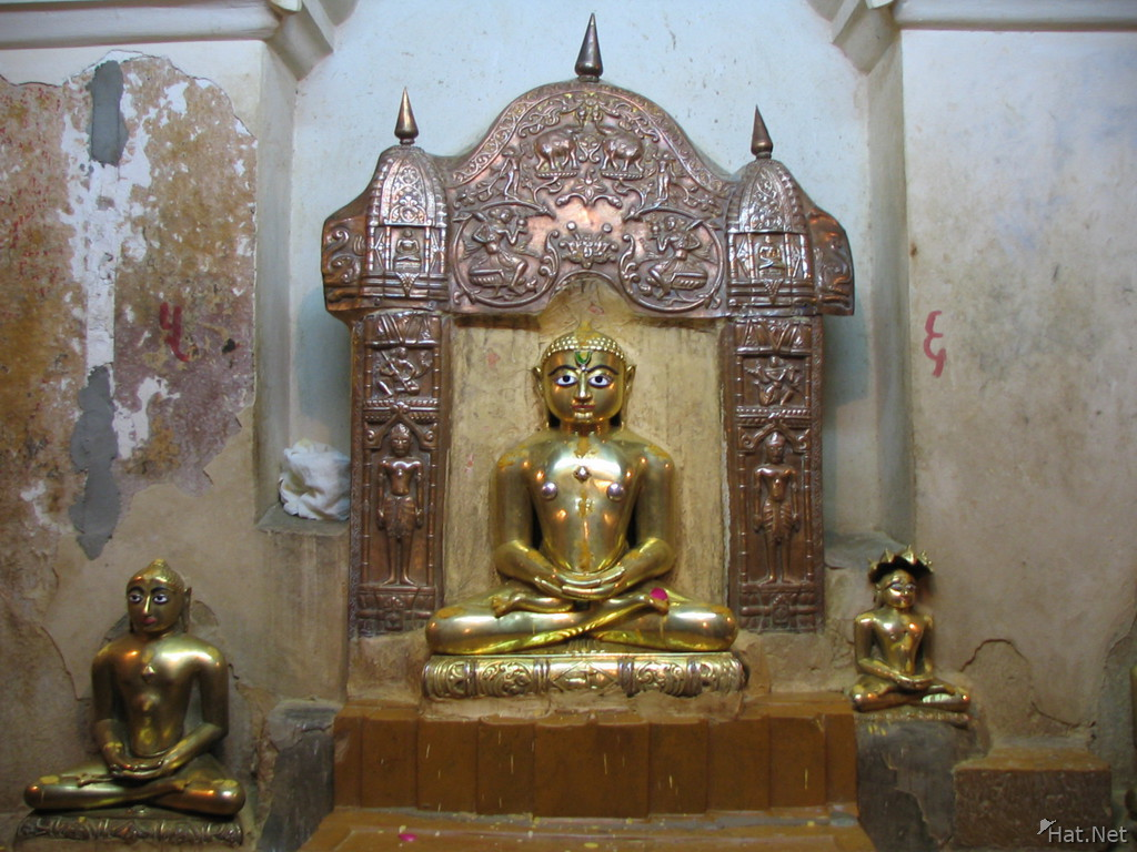 golden jain god