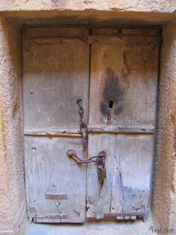 ancient doors of jain god