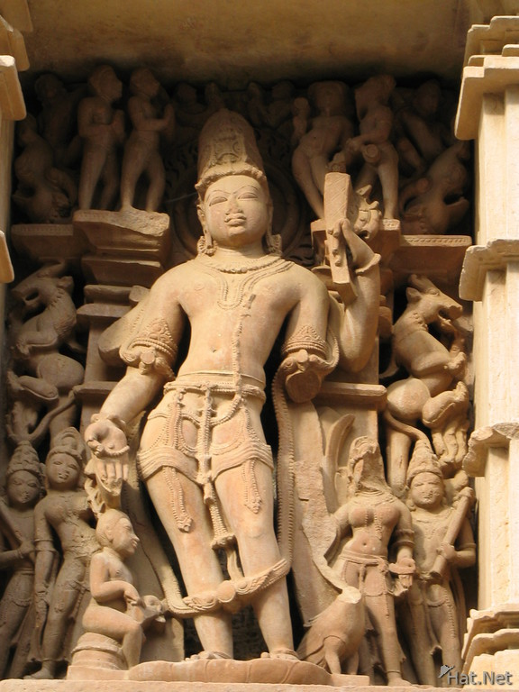 vishnu and his four hands