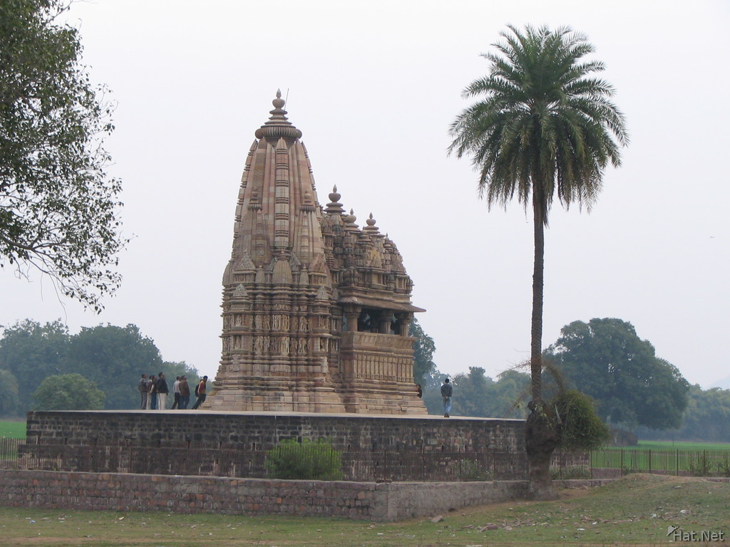 javari temple near the village