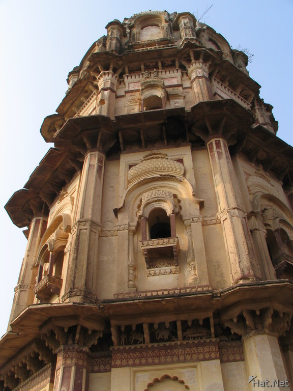 tower in laxmi temple
