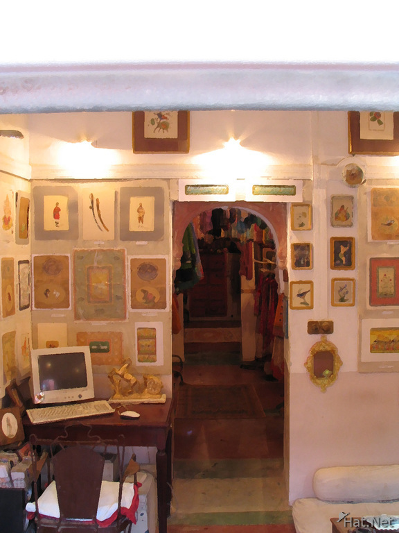 artist gallery at bhaviron villa