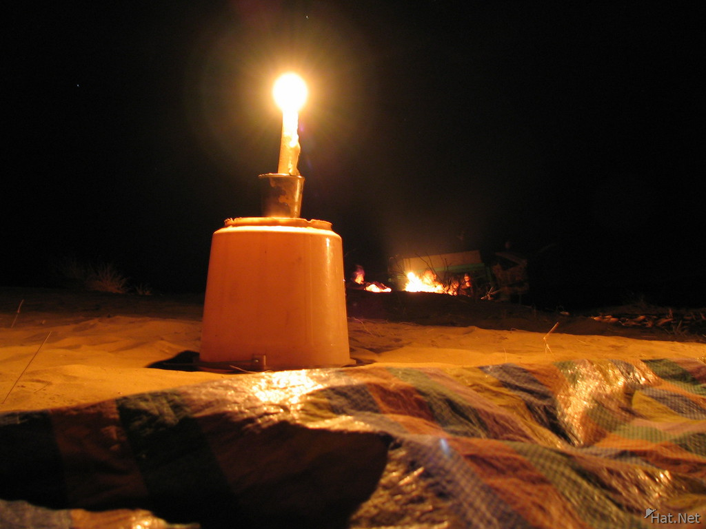 sleeping under the star at bikaner desert