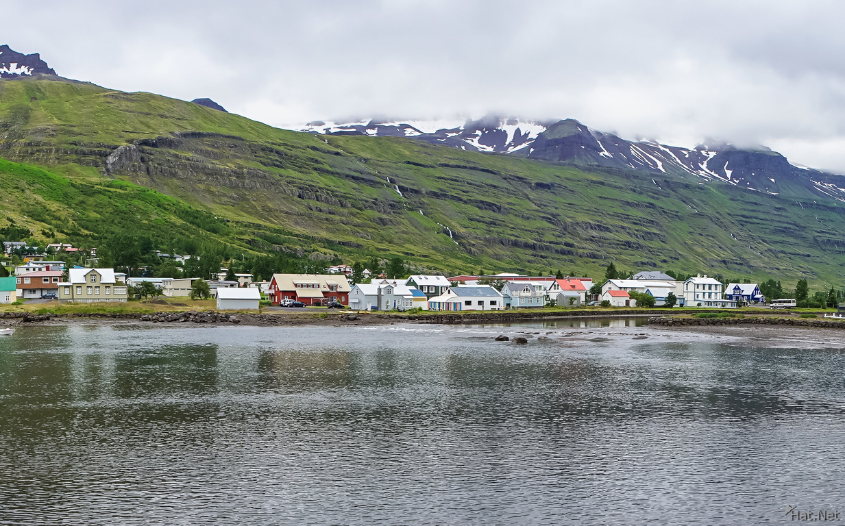 Seydisfjordur lake view