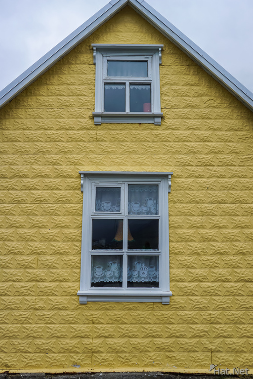 Seydisfjordur yellow house
