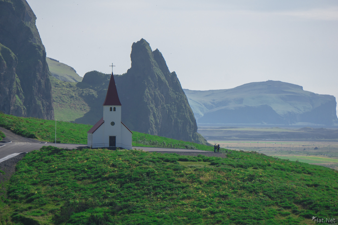 Vik church