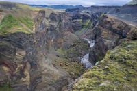 Markarfljot Canyon South,  Iceland, Europe