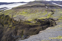 fimmvorduhals cliffs South,  Iceland, Europe
