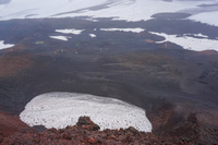fimmvorduhals crater South,  Iceland, Europe