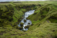 Falls of Skogar South,  Iceland, Europe