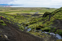 Rauofeldar Canyon Vik,  West,  Iceland, Europe