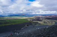 Hverfjall aukery,  Northeast,  Iceland, Europe