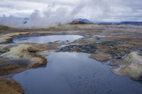 Hverir aukery,  Northeast,  Iceland, Europe