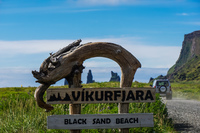 Vikurfjara Black Sand Beach Vík,  South,  Iceland, Europe