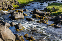 Oxararfoss creek Grundarfjordur,  South,  Iceland, Europe